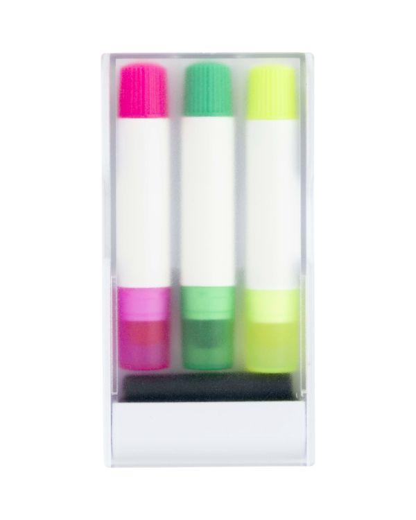 Set Of Three Gel Markers