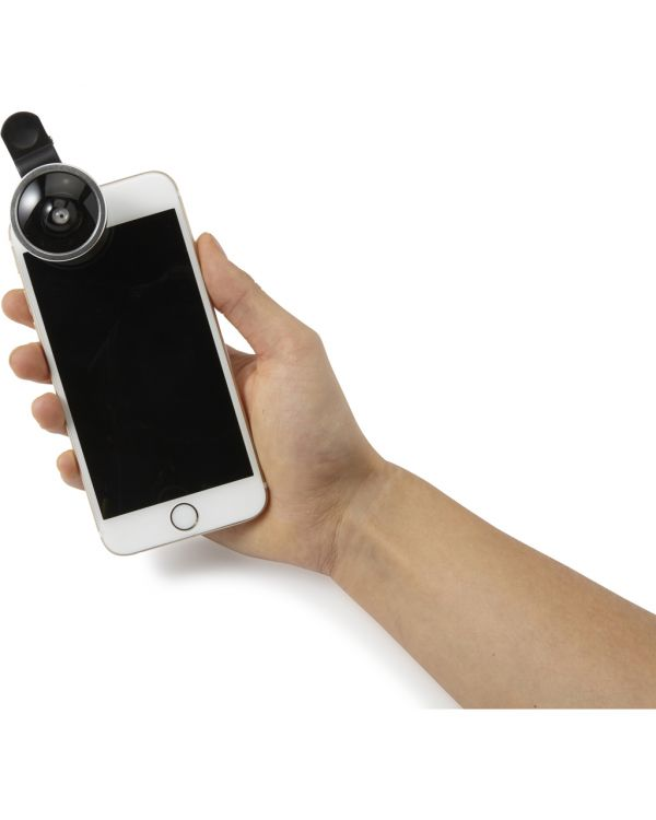 Set Of Two Lenses For Mobile Phones