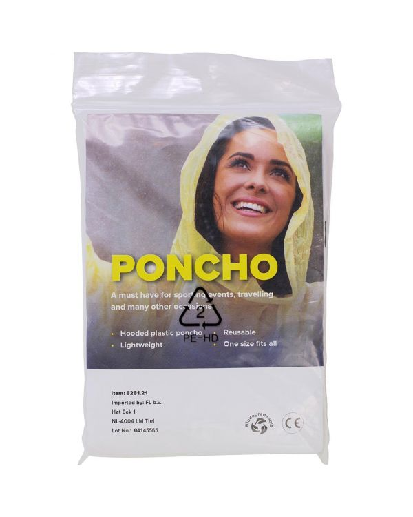 Recycled And Bio-Degradable Poncho