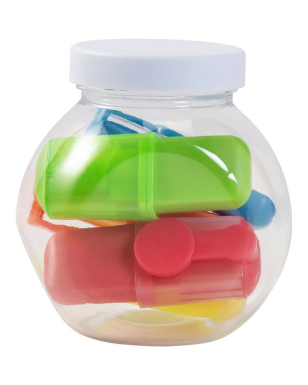 Jar With Highlighters