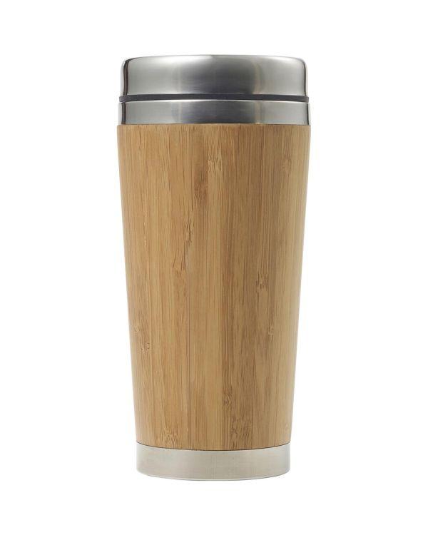 Bamboo Double Wall Travel Mug,