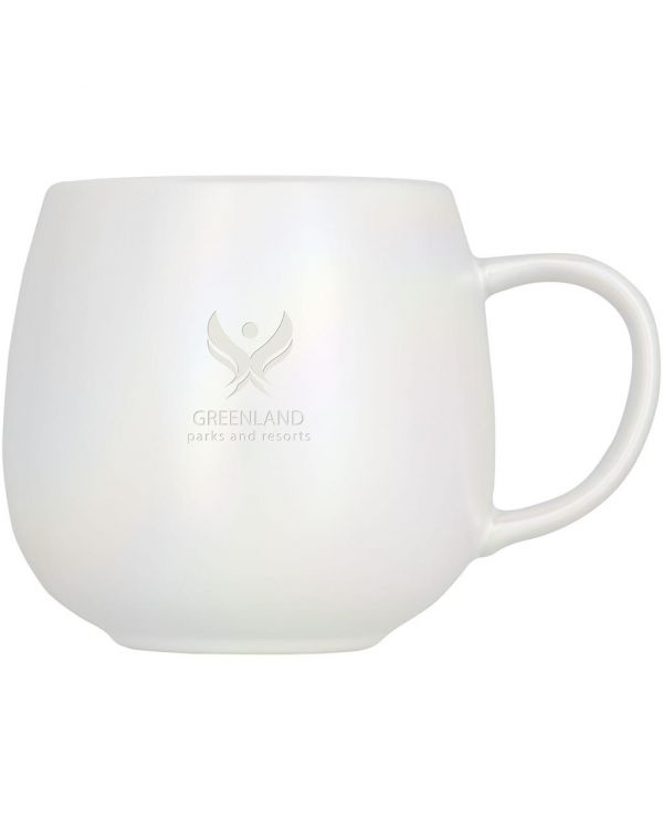 Glitz 420 ml Iridescent Ceramic Mug