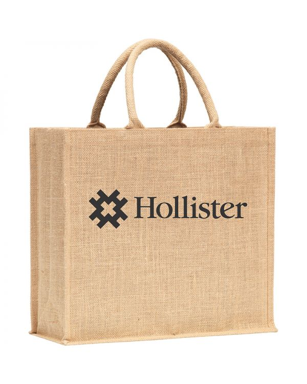 Whistable Jute Tote Bag
