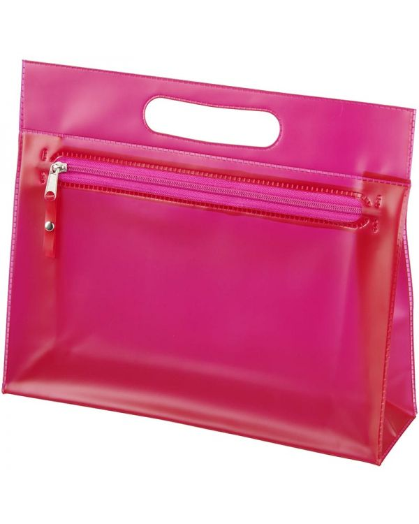 Paulo Transparent Pvc Toiletry Bag