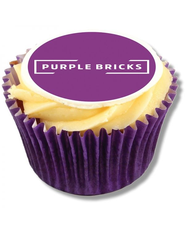 Logo Frosted Cupcake