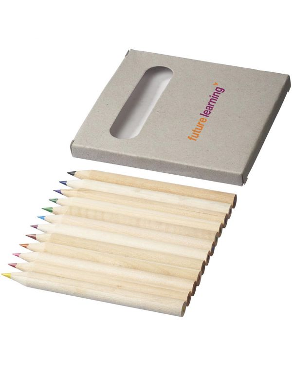 Tallin 12-Piece Coloured Pencil Set