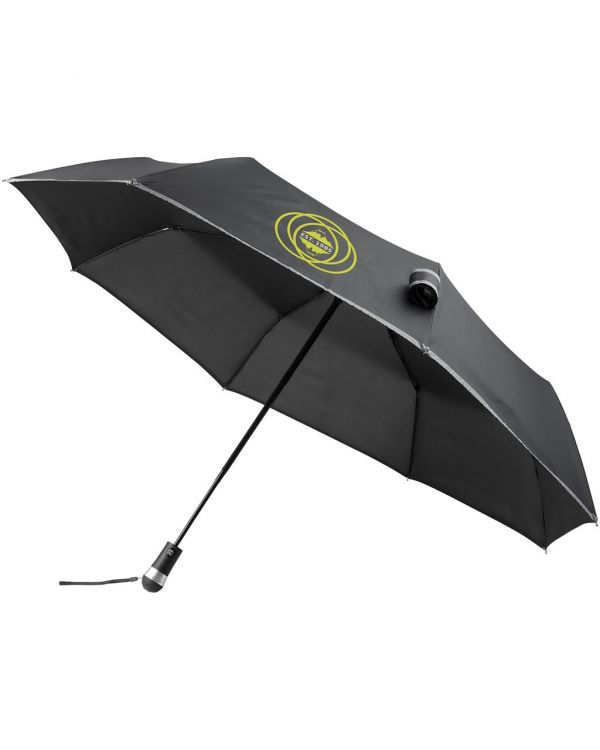 "Luminous 27"" LED Foldable Auto Open/Close Umbrella"