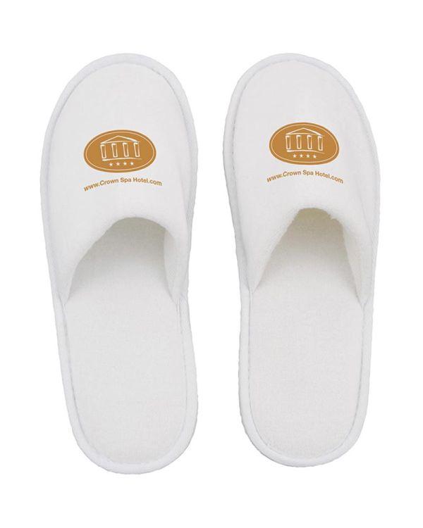 Plush Spa Slippers