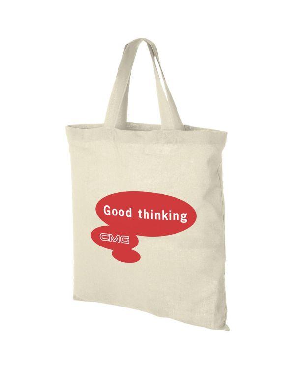 Virginia 100 G/M Cotton Tote Bag Short Handles