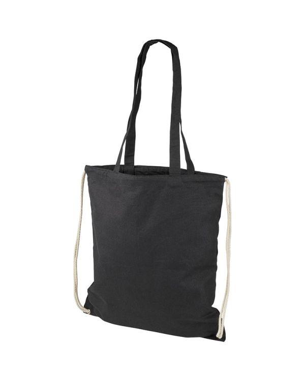 Eliza 240 g/sq m Cotton Drawstring Backpack