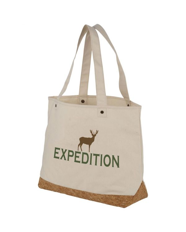 Napa 406 G/M Cotton And Cork Tote Bag