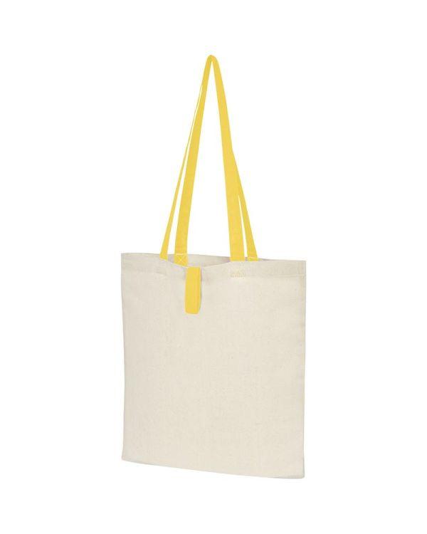 Nevada 100 g/sq m Cotton Foldable Tote Bag