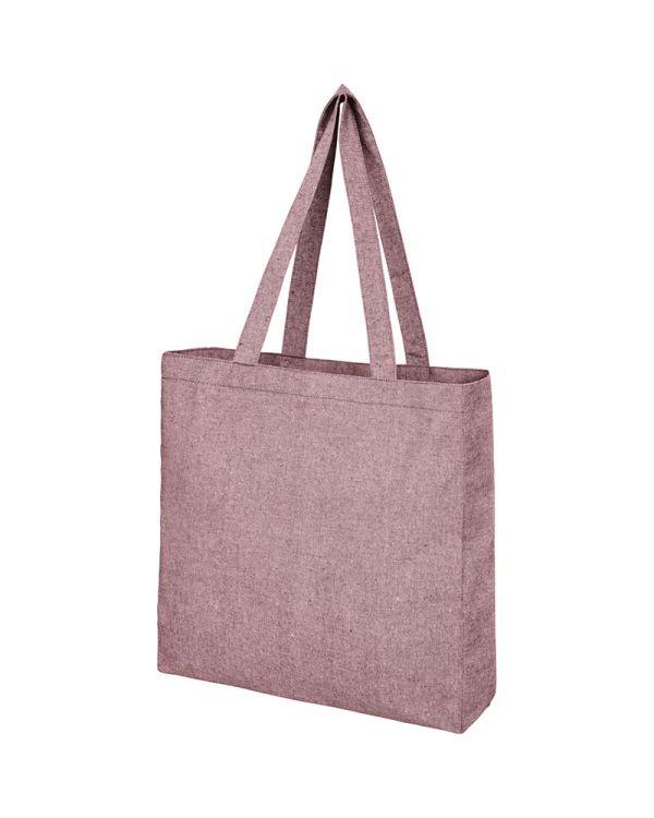 Pheebs 210 g/sq m Recycled Gusset Tote Bag