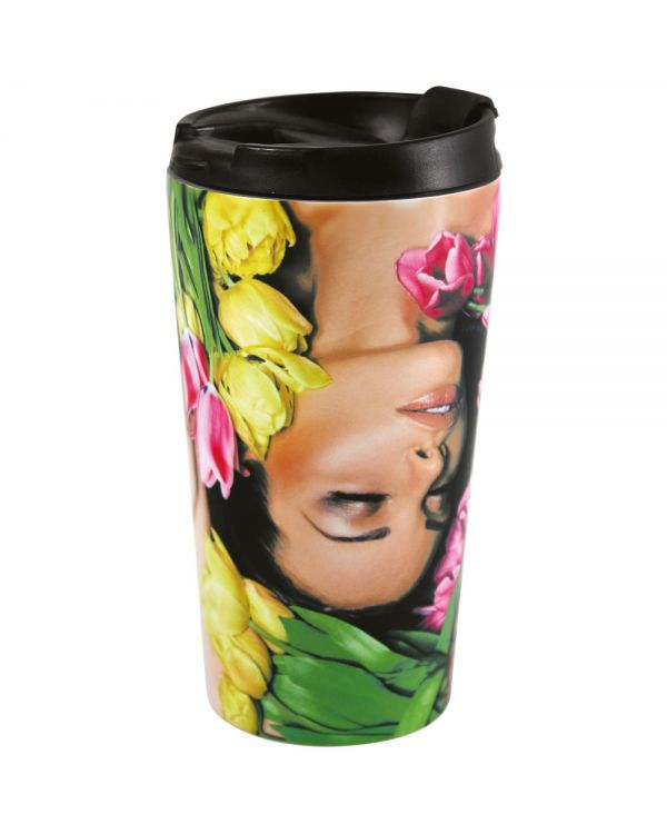 Satin Rio Photo Travel Mug