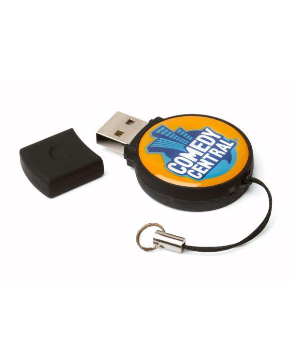 Epoxy Circle USB FlashDrive