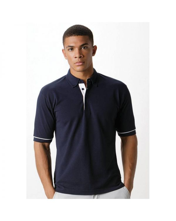 Mens Contrast Polo Shirt