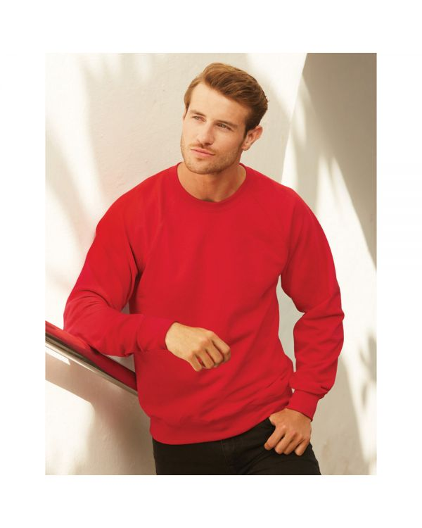 Mens Lightweight Raglan Sweat