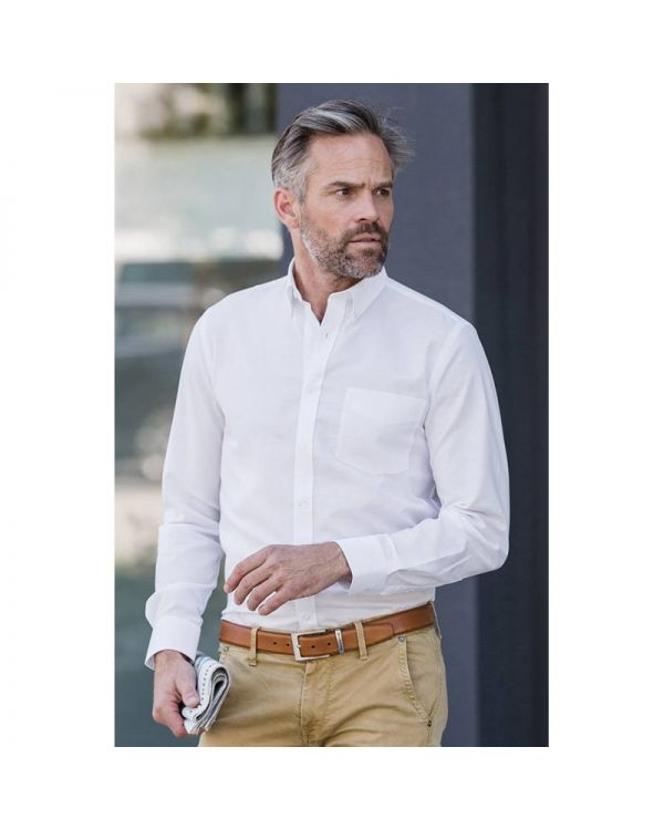 Mens Tailored Oxford Shirt
