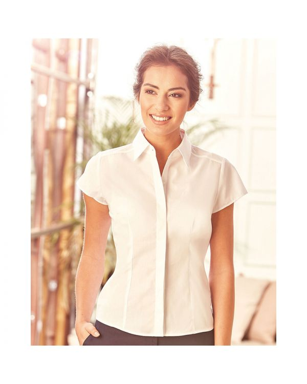 Ladies Fitted Poplin Shirt