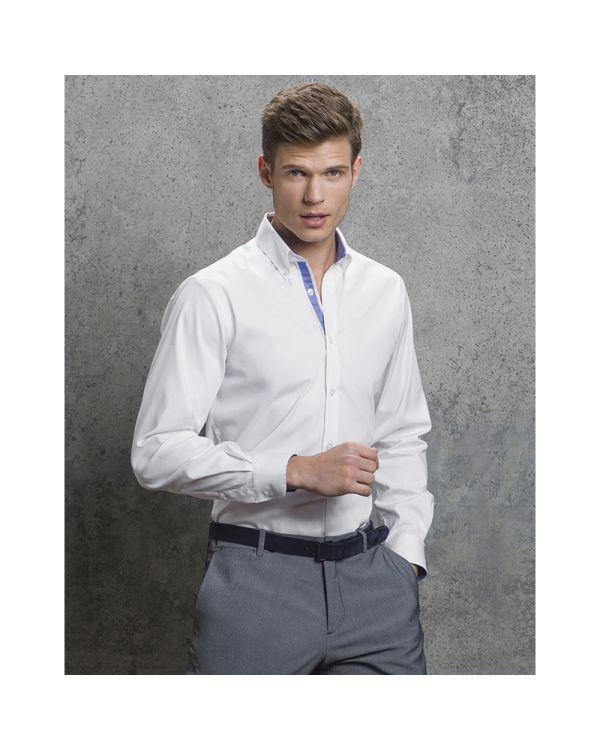 Mens Contrast Oxford Shirt
