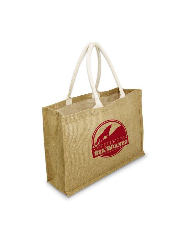 Green & Good York Large Bag - Jute