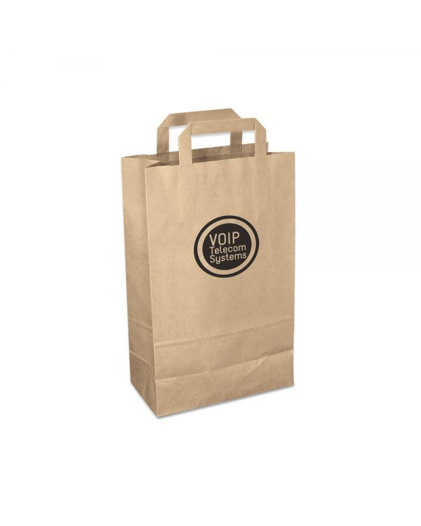 Green & Good Paper Carrier Bag Medium - Recycled