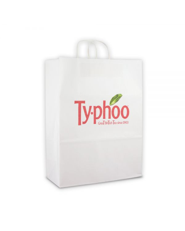 Green & Good Large Carrier Bag Digital Print - Sustainable Paper