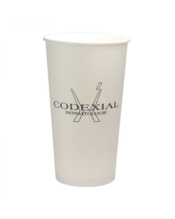 20oz Singled Walled Simplicity Paper Cup