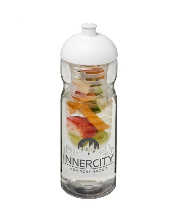 H2O Base 650 ml Dome Lid Sport Bottle & Infuser