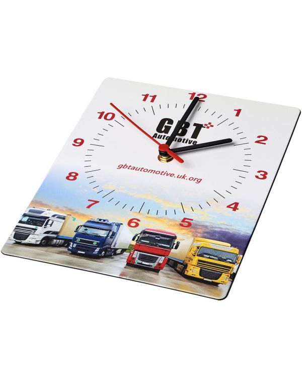 Brite-Clock Rectangular Wall Clock