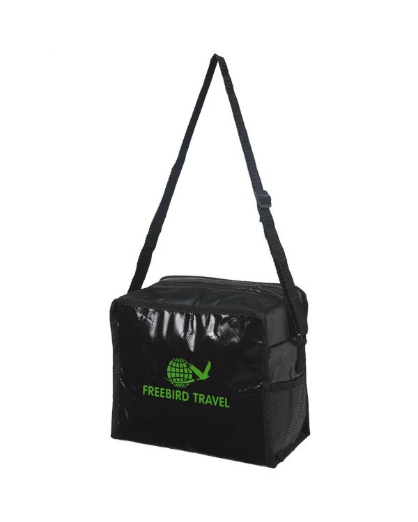 Cool Cube Lunch Cooler Bag With Shoulder Strap