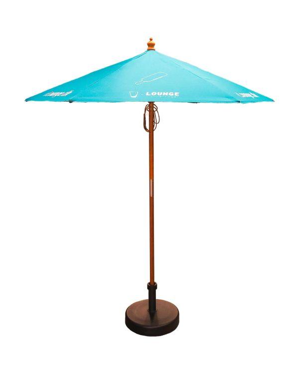 2m Wooden Parasol