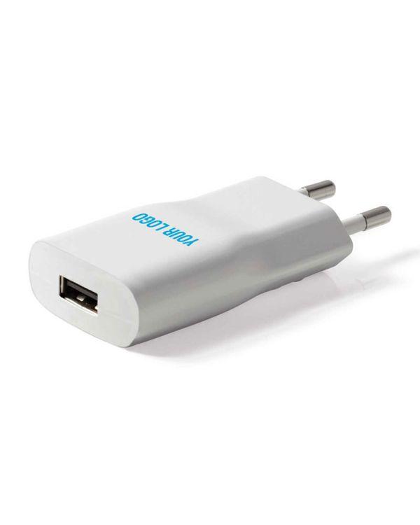 USB Power Adapter - white