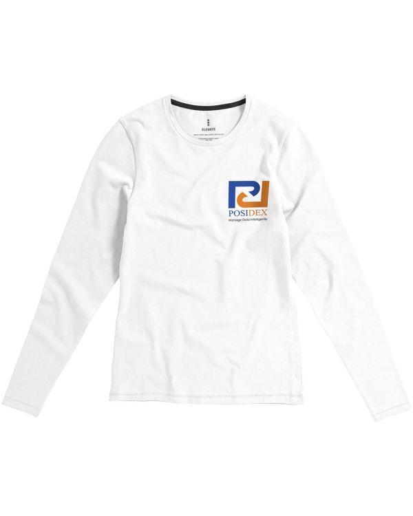 Ponoka Long Sleeve Women'S Organic T-Shirt