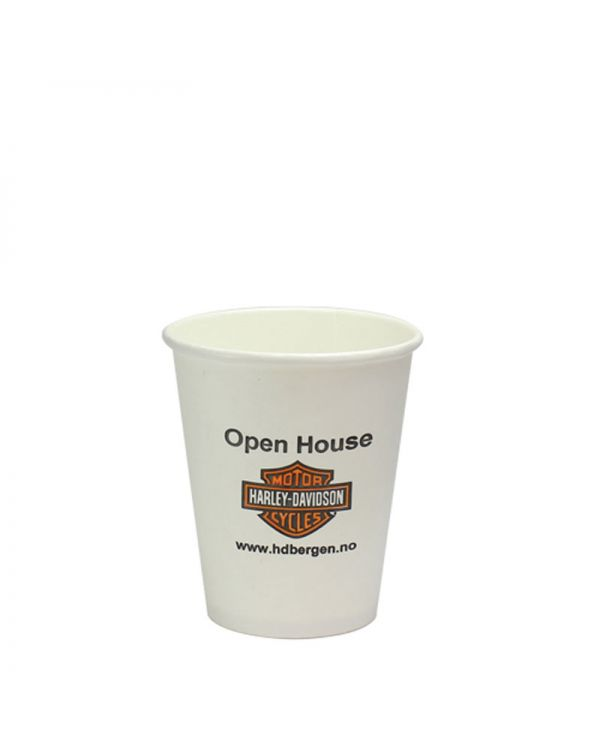 8oz Singled Walled Simplicity Paper Cup