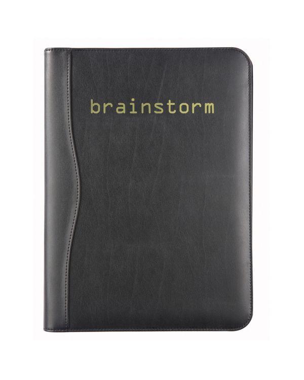 Black Houghton A4 Conference Folder