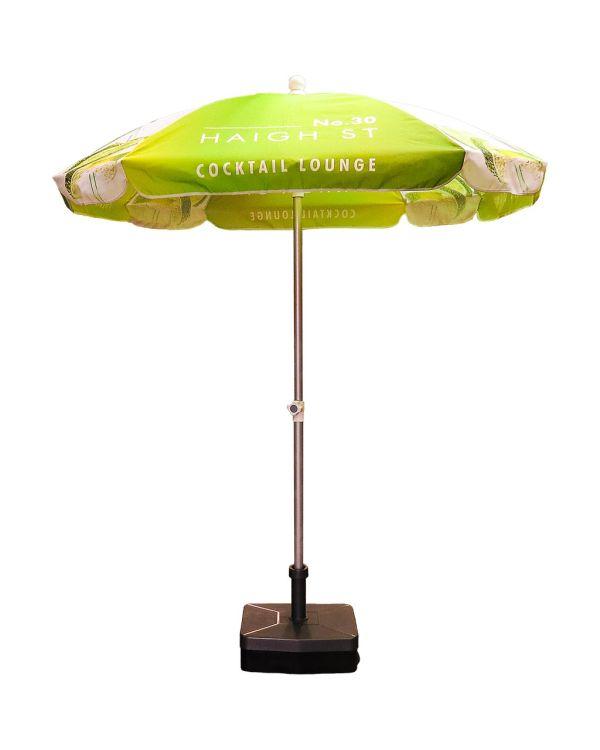 Square Aluminium parasol