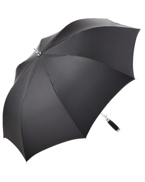 FARE Exclusive Alu AC Golf Umbrella With Straight Leather Trim Handle