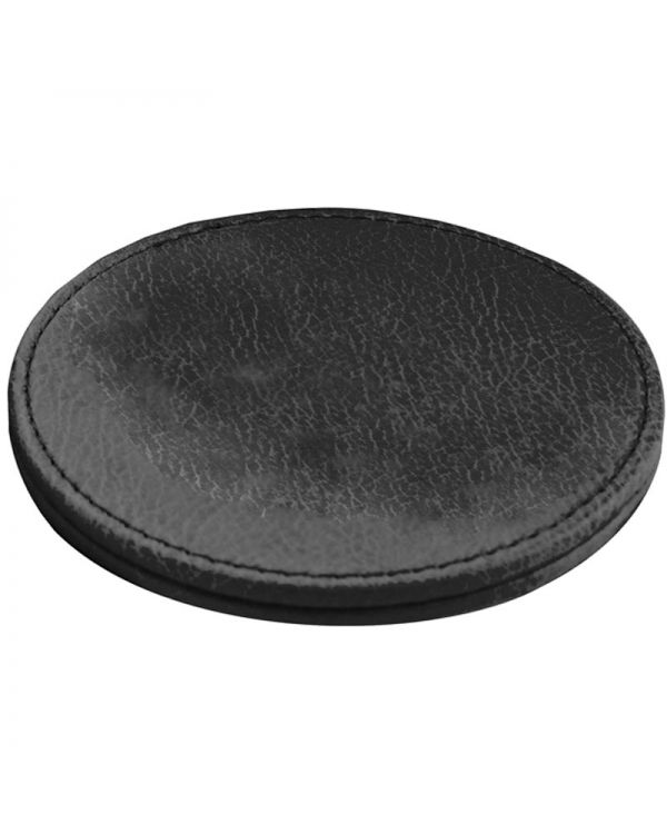 Woburn Leather Deluxe Round Coaster