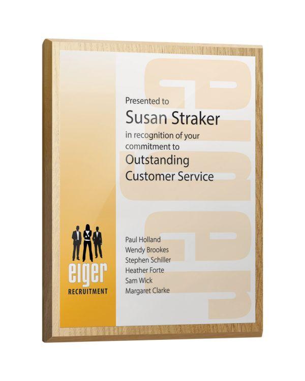 Oblong Award Plaques
