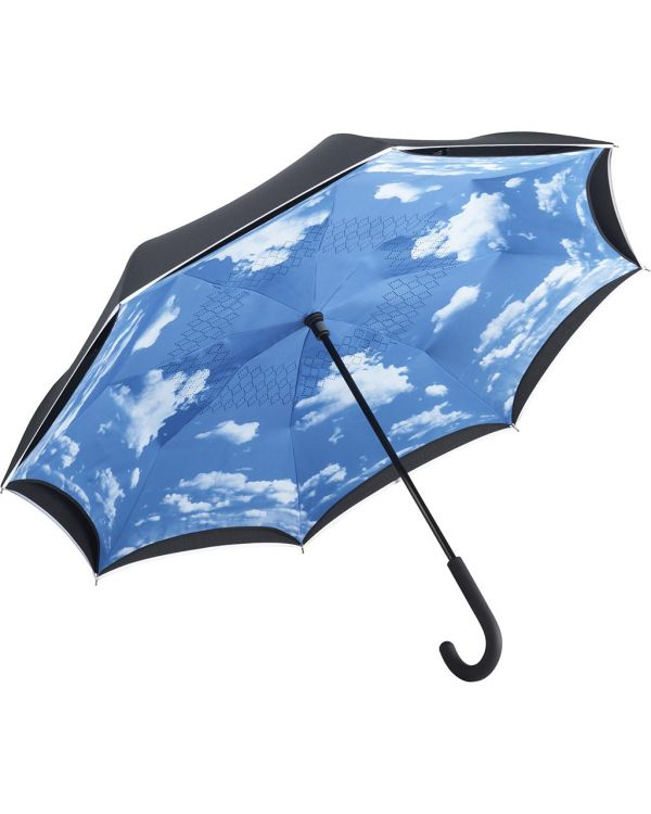 FARE Contrary Regular Umbrella With Cloud Pattern Inner Cover