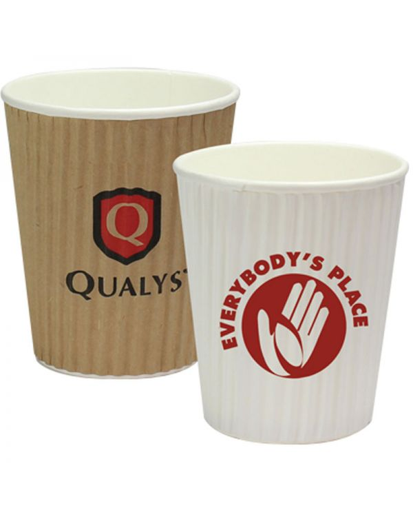 8oz Rippled Simplicity Paper Cup