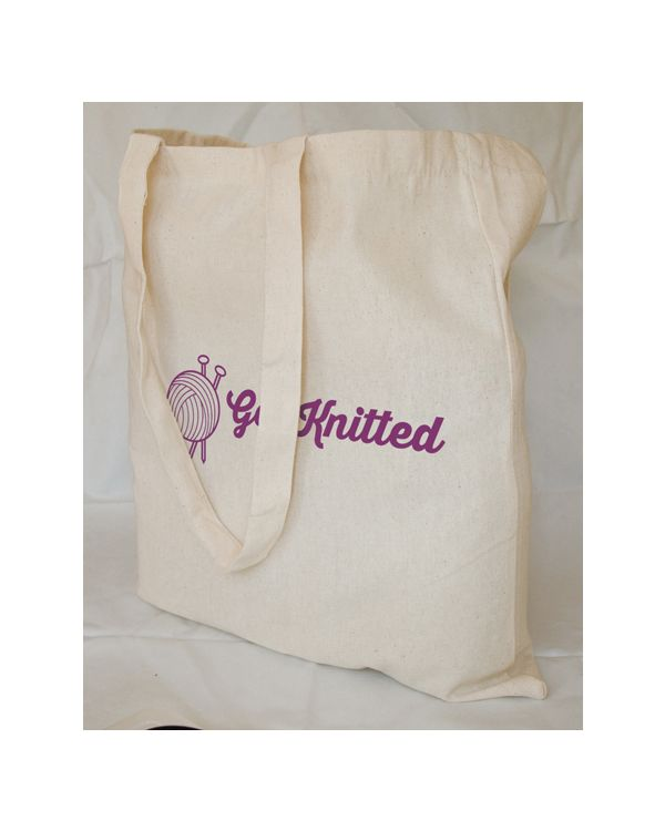 6oz Natural Cotton Shopper Bag
