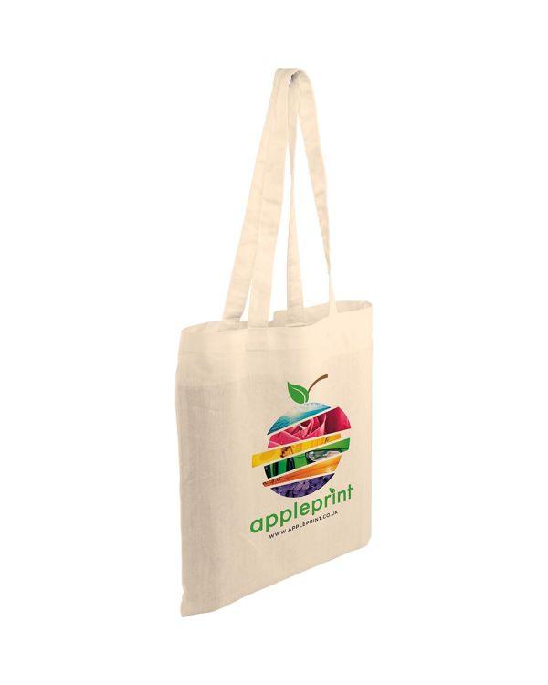 Coloured Kingsbridge 5oz Cotton Tote Bag