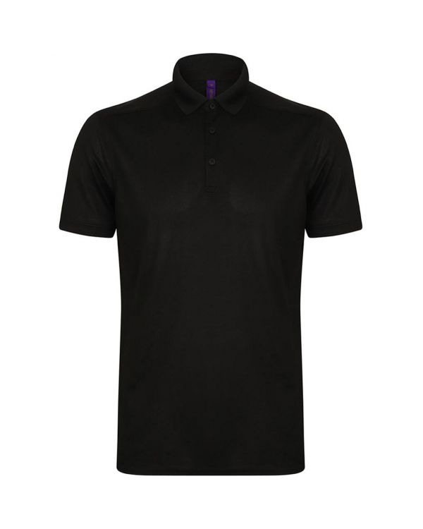 Henbury Stretch Microfine Pique Gent's Golf Polo