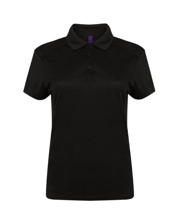 Henbury Stretch Microfine Pique Women's Golf Polo