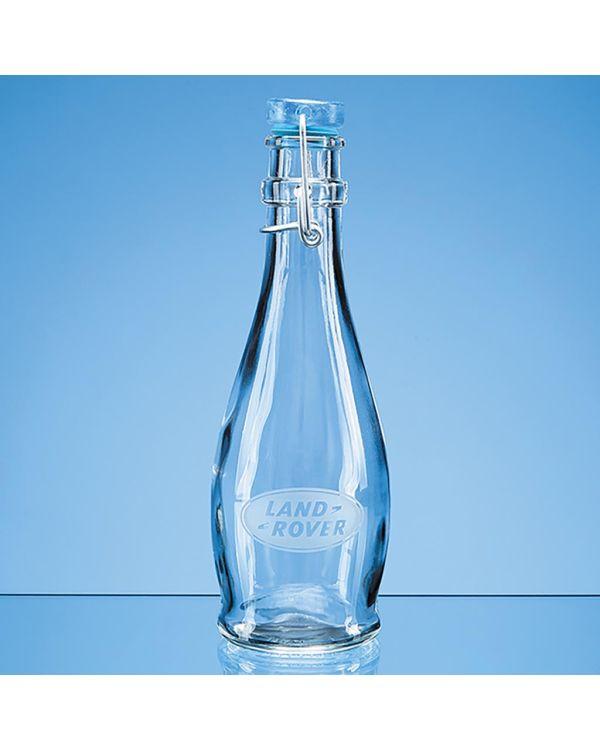 0.355ltr Round Blue Cap Swing Top Bottle (Not suitable for carbonated liquids)