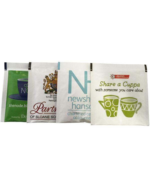 Labelled Tea Bag