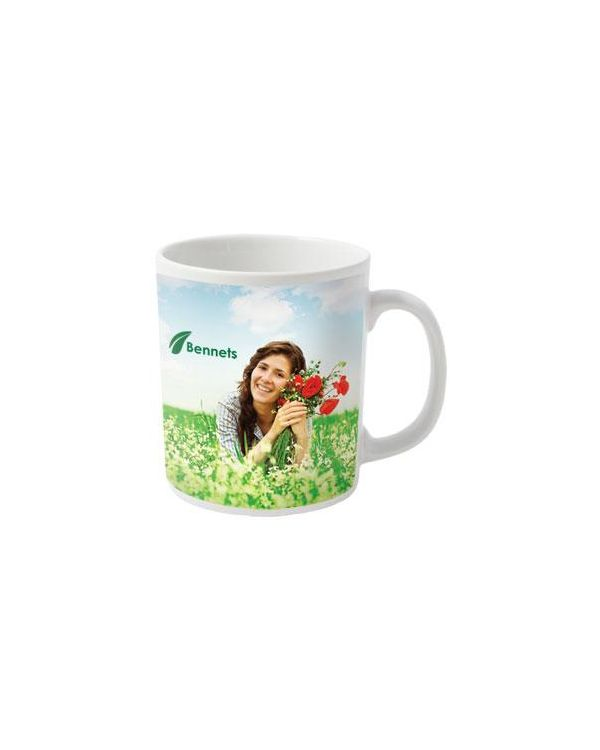 Cambridge Dye Sublimation White Mug