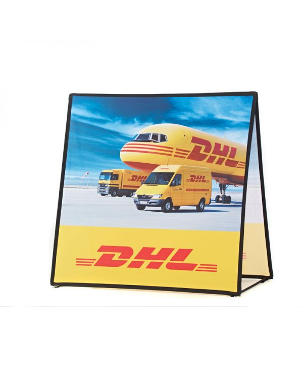 Horizontal Square Pop Out Banner 1.4m x 1.4m